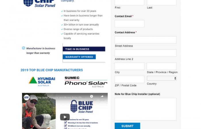 Blue Chip Solar